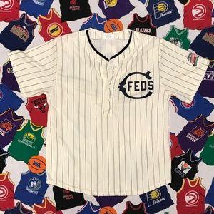 2014 Chicago Cubs Federals Button up MLB Jersey